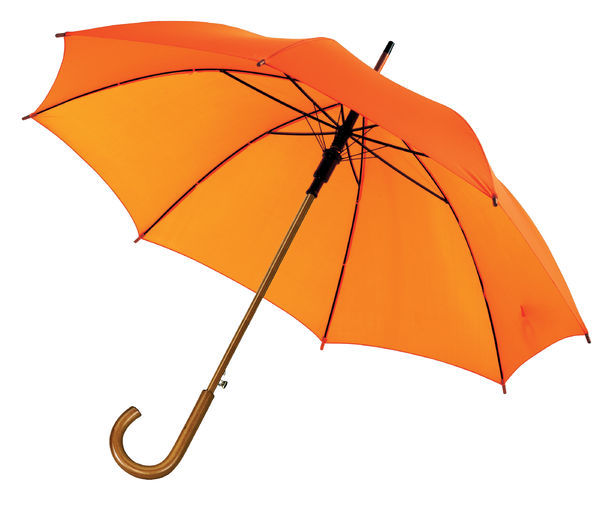 Parapluie pub Orange